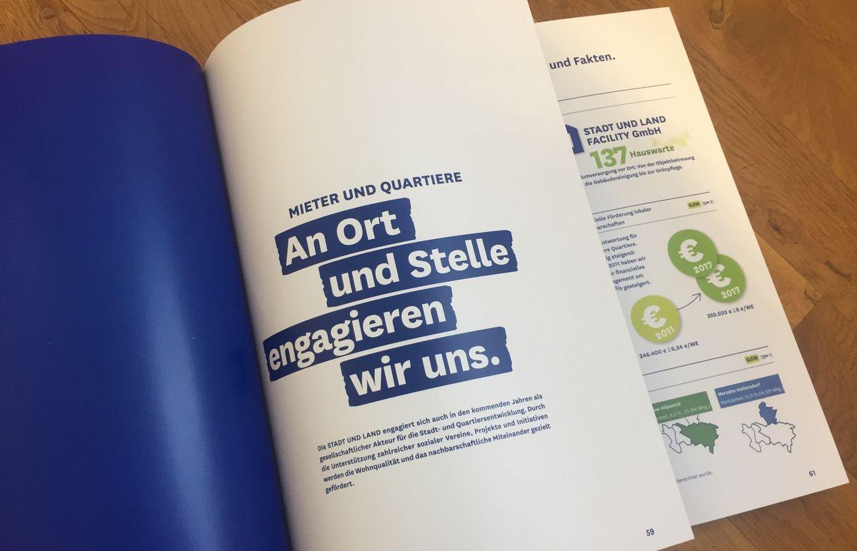 Der erste Nachhaltigkeitsbericht von Stadt und Land Berlin