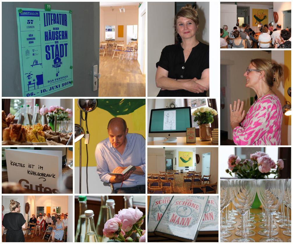 Collage mit Impressionen der Veranstaltung der kggk: Ambiente, Gäste und Akteure