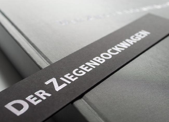 Printveredelung in Form eines Lesezeichens