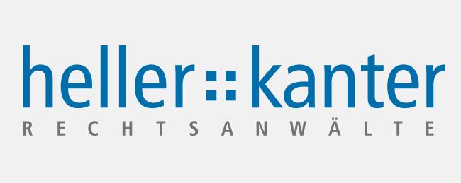 Logo der Heller Kanter Rechtsanwaltskanzlei.
